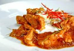 Panaeng Curry with Pork (Kaeng Paneng Moo)