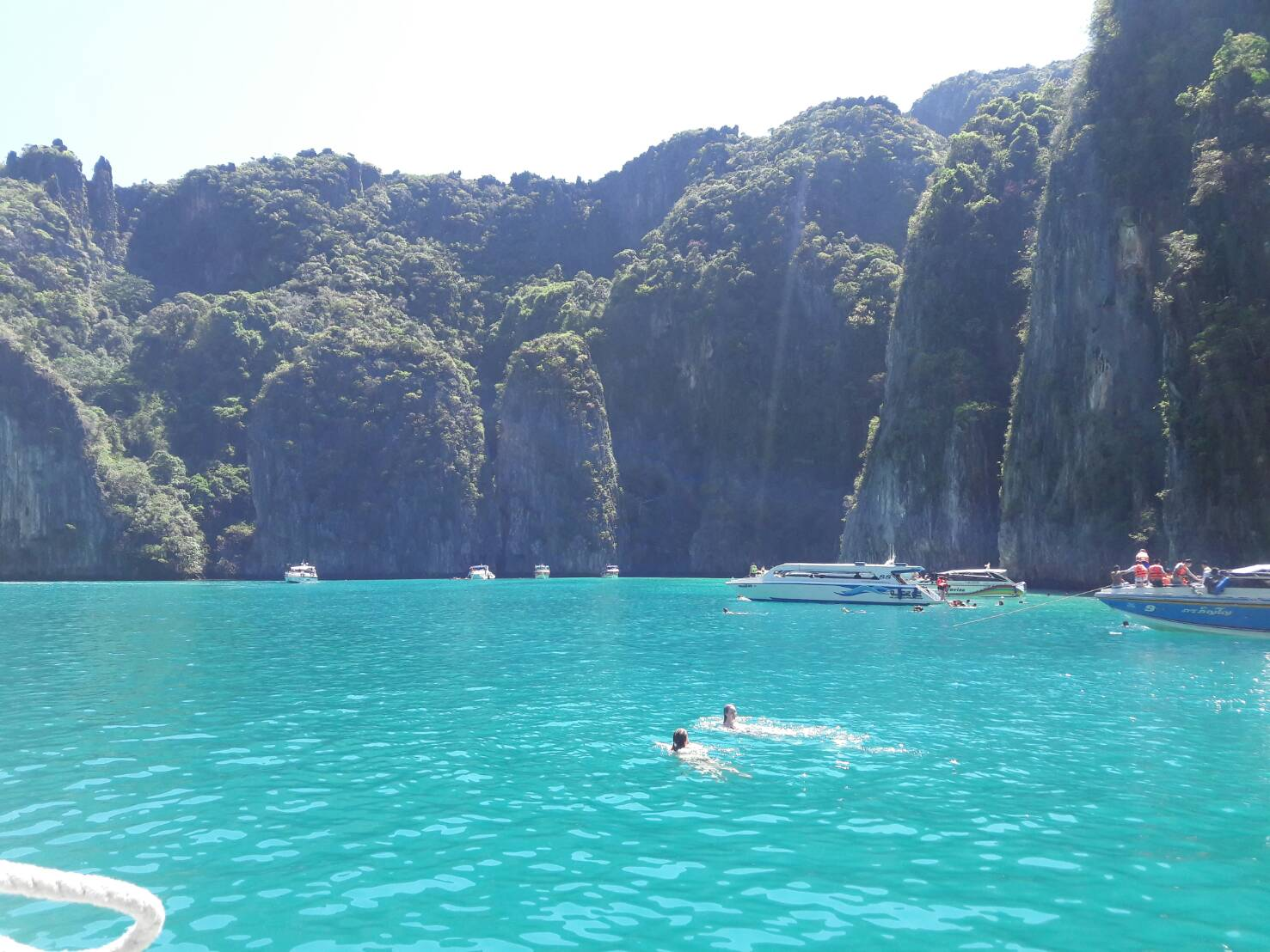 phi phi island by big boat