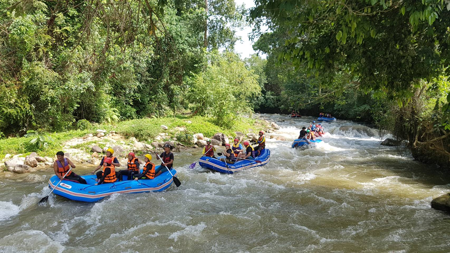 Rafting 5 Km + Sightseeing tour Phang Nga