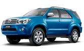 phuket car rent toyota fortuner