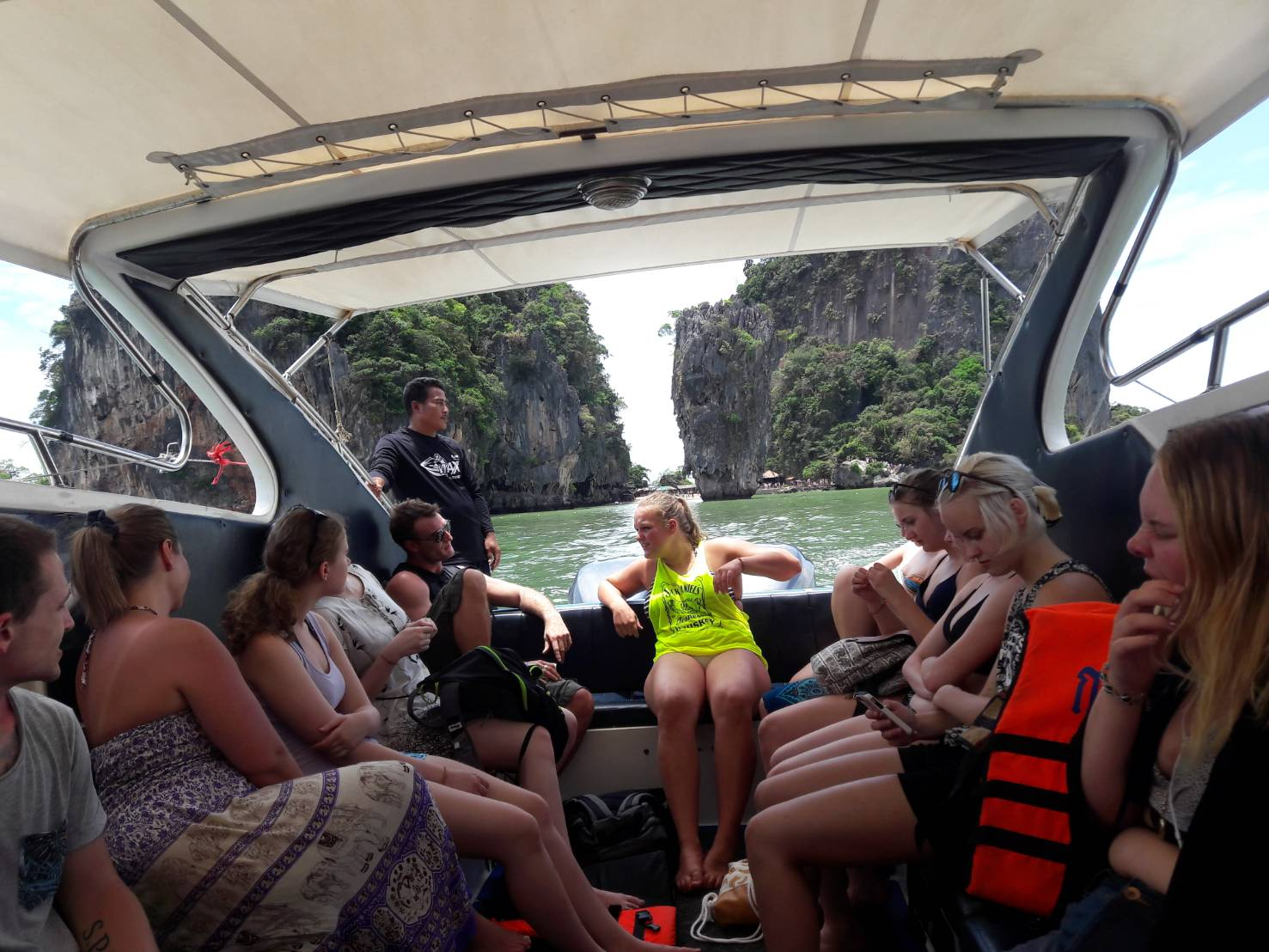 phang nga bay private speed boat tour