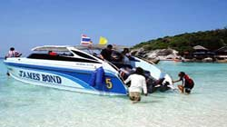 Raya Island by Speed Boat
