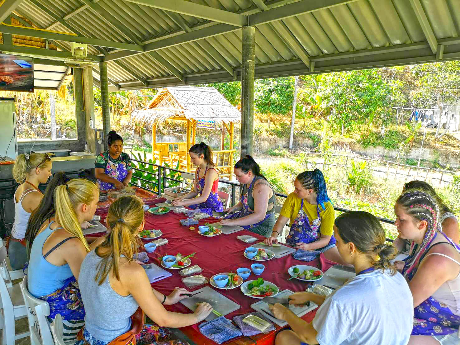 Phuket Thai Cooking Class | Thai Cooking Lessons By Miss Chel‎ in Kata Beach